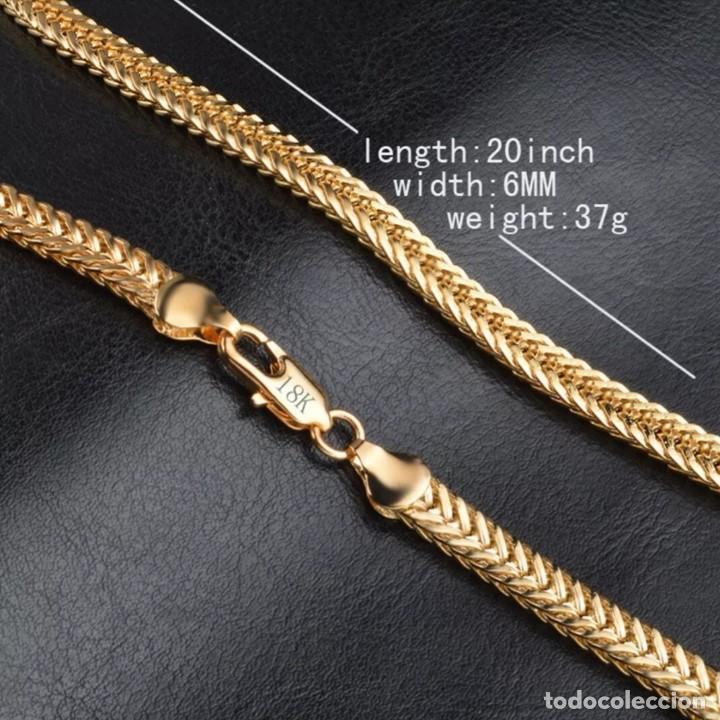 Joyeria: Cadena chapado en oro de 18k, Unisex - Foto 3 - 163376826