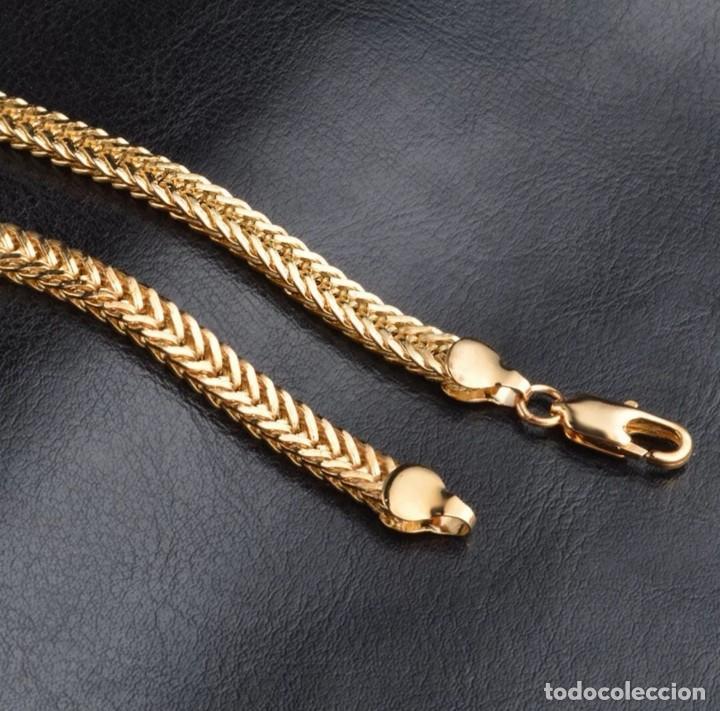 Joyeria: Cadena chapado en oro de 18k, Unisex - Foto 4 - 163376826