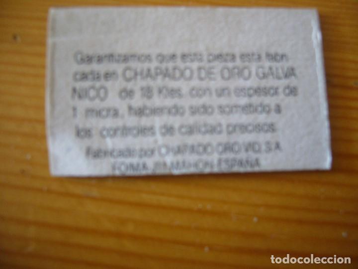 Joyeria: GEMELOS VID CHAPADOS EN ORO GALVANIZADO DE 18 Ktes - Foto 4 - 163483762
