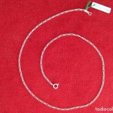 Joyeria: CADENA DE PLATA DE LEY DE 42 CM. - SIN USAR - PESA 2,6 GR.. Lote 163942614