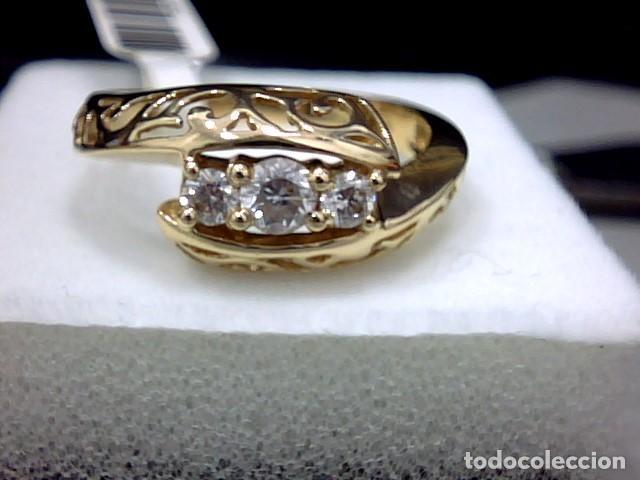 Joyeria: anillo oro 18 kl y diamantes - Foto 4 - 164043322