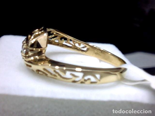 Joyeria: anillo oro 18 kl y diamantes - Foto 5 - 164043322