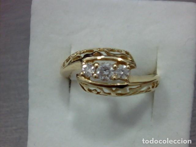 Joyeria: anillo oro 18 kl y diamantes - Foto 6 - 164043322