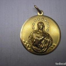 Joyeria: MEDALLA DE ORO PARA COLGAR . ASCENSION DE LA VIRGEN MARÍA.. Lote 165102842
