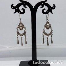 Schmuck - Preciosos pendientes antiguos ibizencos en plata de ley contrastada hechos a mano. - 165303906