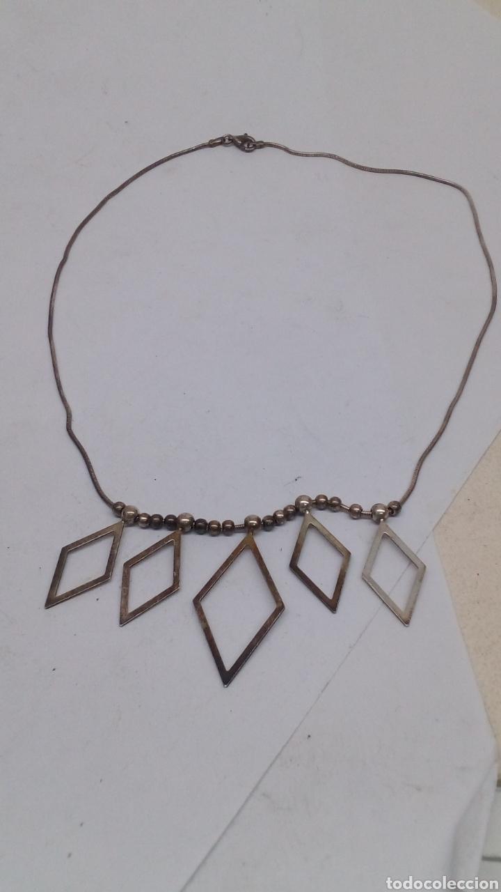 COLLAR DE PLATA 925 (Joyería - Collares Antiguos)