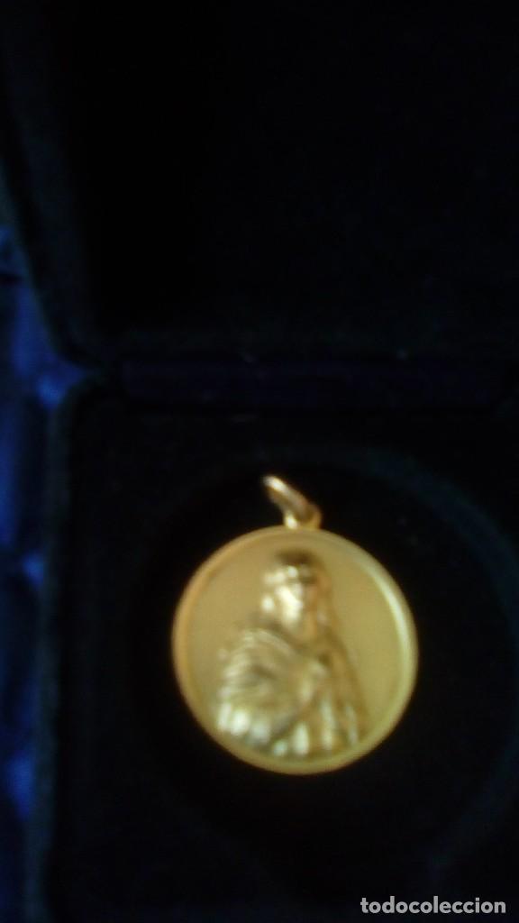 Joyeria: medalla chapada oro virgen - Foto 2 - 102793403