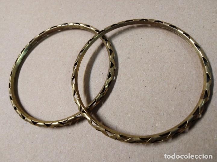 Joyeria: 2 pulseras doradas - Foto 3 - 166625534