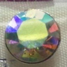 Joyeria: PENDIENTES DE PLATA DE LEY PIEDRA EN PRISMA TONOS MIX COLOR. Lote 166690318