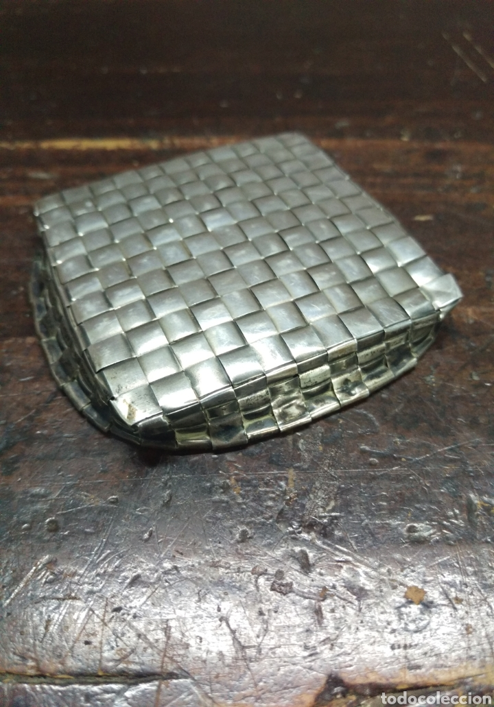 Joyeria: Rarisimo plato fuente trenzada en plata de ley maciza marca estrella - Foto 4 - 166905604
