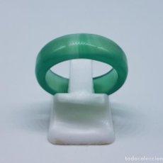 Jewelry - Antiguo anillo oriental de jade, hecho y pulido a mano . - 167062125