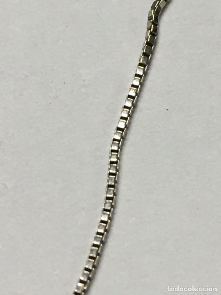 Joyeria: Colgante de oro 750 blanco con brillantes y cadena Venecina - Foto 6 - 167468226