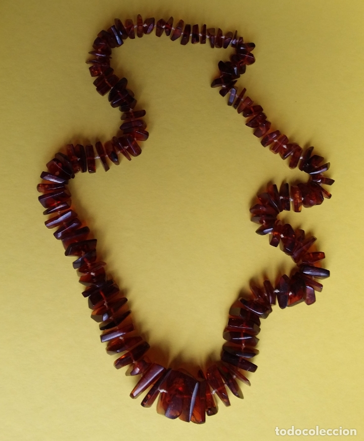 Joyeria: Collar Ámbar del Báltico 75 cm - Foto 2 - 167599480