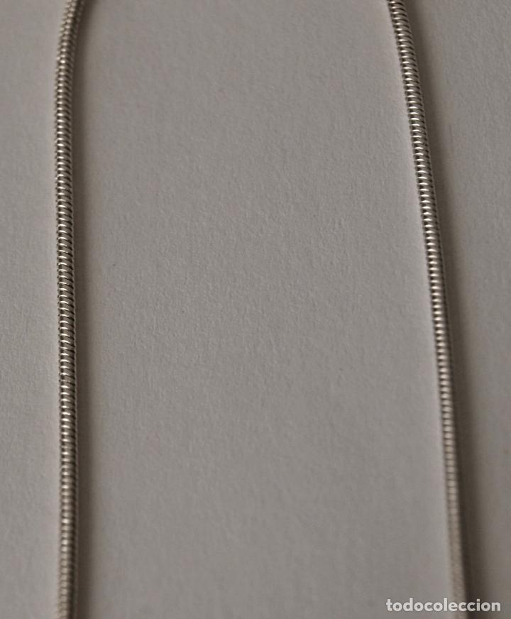Joyeria: PENDIENTES LARGOS DE PLATA DE LEY CONTRASTADA. 8,4 CM LARGO APROX. VER FOTOS Y DESCRIPCION - Foto 8 - 167638385