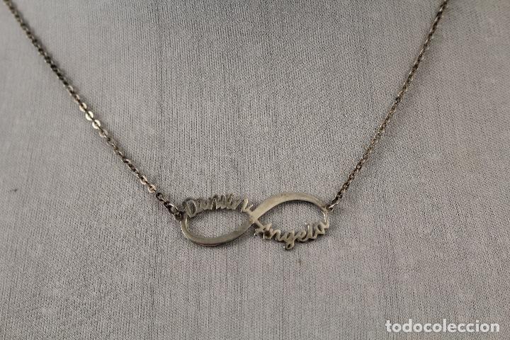 Joyeria: collar gargantilla angela en plata de ley 925 - Foto 5 - 168132326