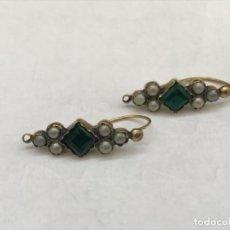 Joyeria - Pendientes antiguos de oro - 168193240