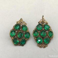 Joyeria - Pendientes de oro antiguos - 168193392