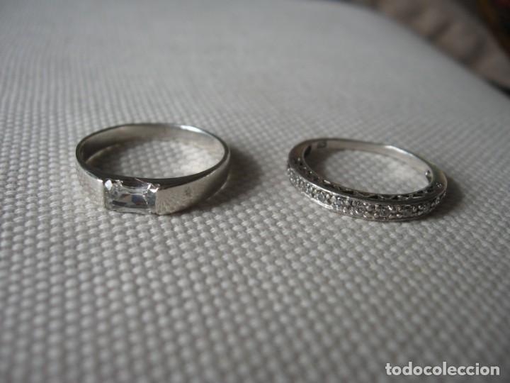 Joyeria: Anillos de plata contrastados 925 con circonitas cúbicas - Foto 3 - 169878888