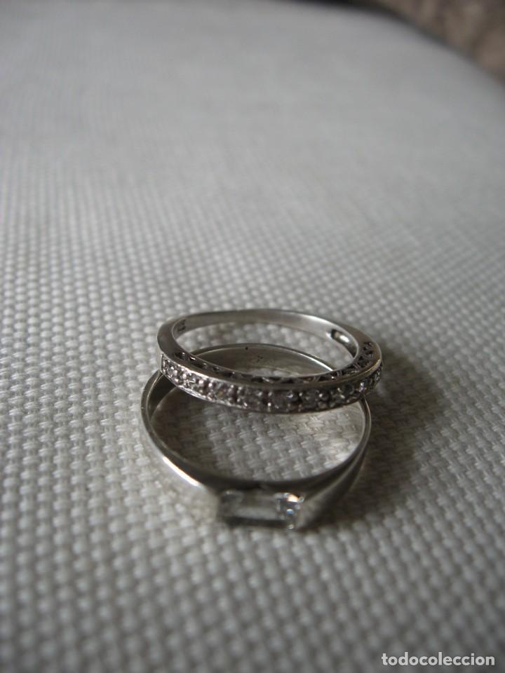 Joyeria: Anillos de plata contrastados 925 con circonitas cúbicas - Foto 9 - 169878888