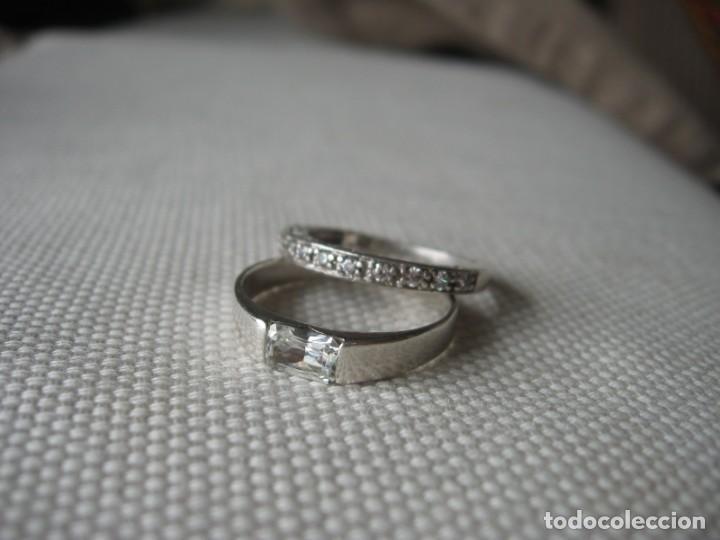 Joyeria: Anillos de plata contrastados 925 con circonitas cúbicas - Foto 13 - 169878888