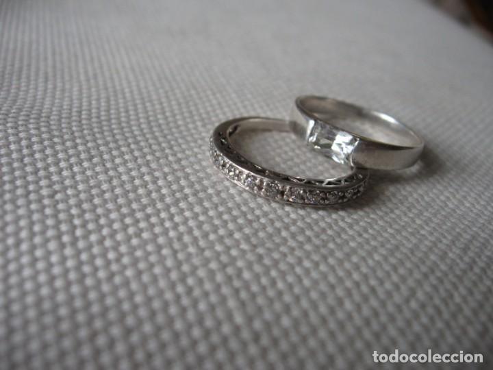 Joyeria: Anillos de plata contrastados 925 con circonitas cúbicas - Foto 20 - 169878888