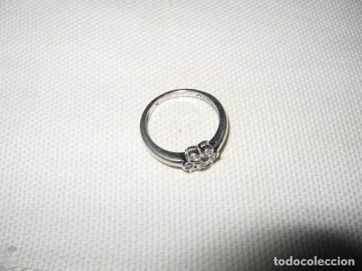 Joyeria: Anillo de plata contrastado 925 V1 con rosetón de circonitas cúbicas. - Foto 8 - 169879640