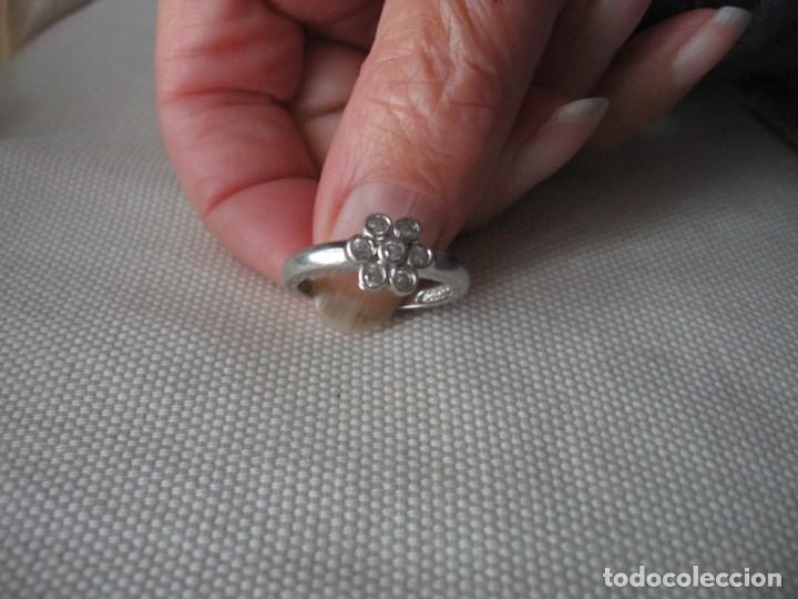Joyeria: Anillo de plata contrastado 925 V1 con rosetón de circonitas cúbicas. - Foto 10 - 169879640