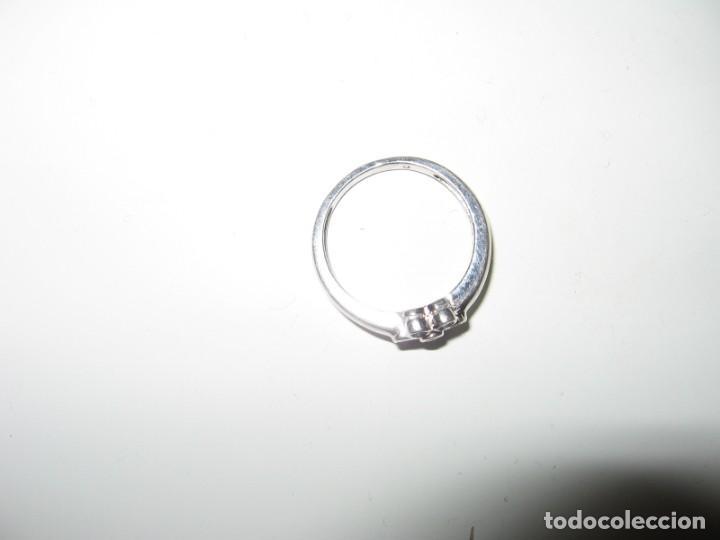 Joyeria: Anillo de plata contrastado 925 V1 con rosetón de circonitas cúbicas. - Foto 13 - 169879640