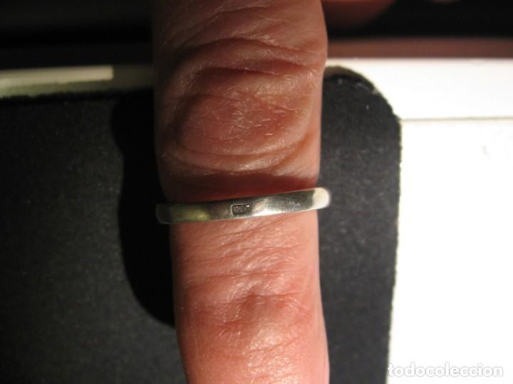 Joyeria: Anillo de plata contrastado 925 V1 con rosetón de circonitas cúbicas. - Foto 16 - 169879640