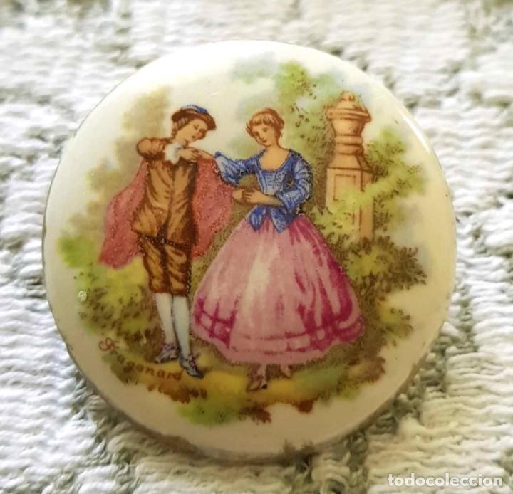 Joyeria: BROCHE VINTAGE de porcelana - Foto 2 - 170091388