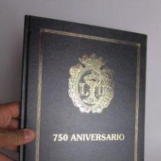 Joyeria: LIBRO 750 ANIVERSARIO GREMIO PATRONAL COLEGIO DE JOYEROS ORFEBRES PLATEROS VALENCIA BISUTEROS. Lote 170874145