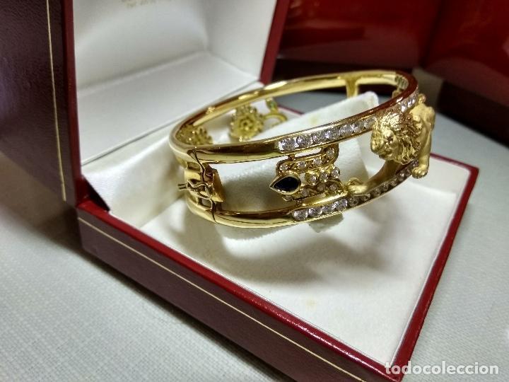 Joyeria: zafiros, esmeraldas, rubíes y circonitas en oro de 18 kl - Foto 3 - 171069007