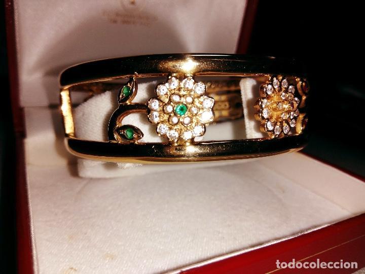 Joyeria: zafiros, esmeraldas, rubíes y circonitas en oro de 18 kl - Foto 5 - 171069007