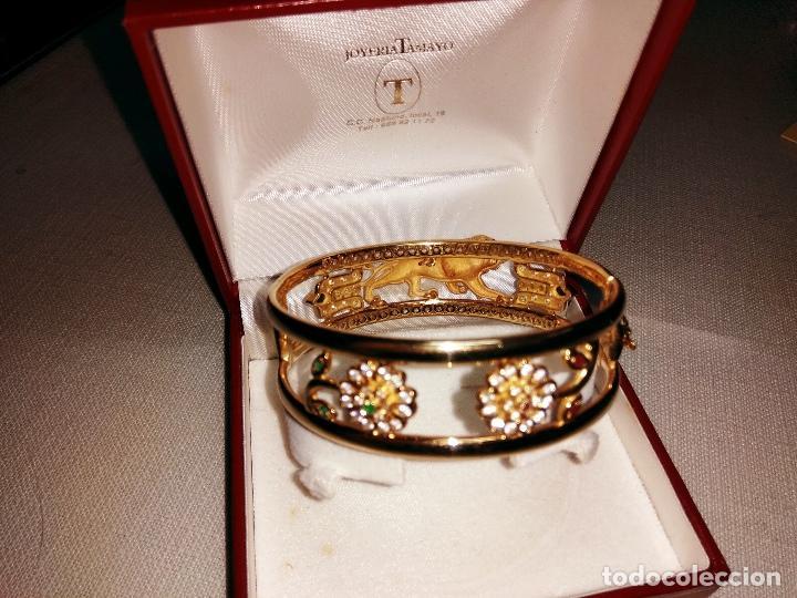 Joyeria: zafiros, esmeraldas, rubíes y circonitas en oro de 18 kl - Foto 4 - 171069007