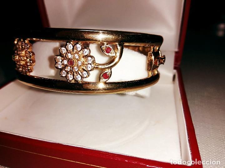 Joyeria: zafiros, esmeraldas, rubíes y circonitas en oro de 18 kl - Foto 9 - 171069007
