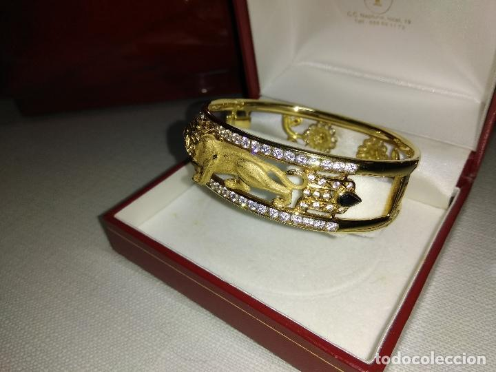 Joyeria: zafiros, esmeraldas, rubíes y circonitas en oro de 18 kl - Foto 10 - 171069007