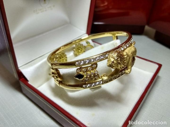 Joyeria: zafiros, esmeraldas, rubíes y circonitas en oro de 18 kl - Foto 13 - 171069007