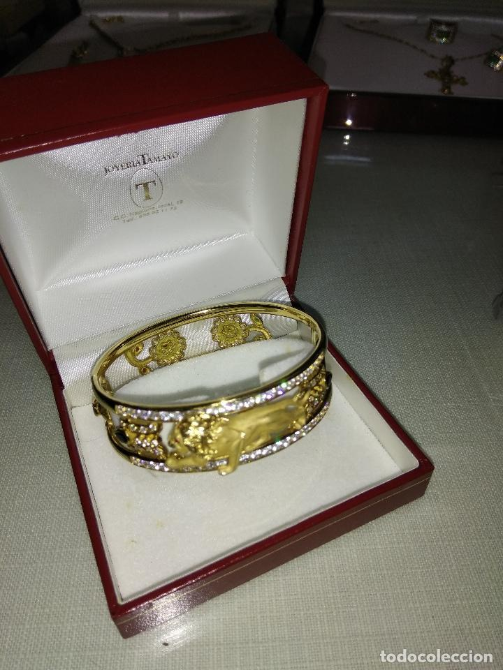 Joyeria: zafiros, esmeraldas, rubíes y circonitas en oro de 18 kl - Foto 15 - 171069007