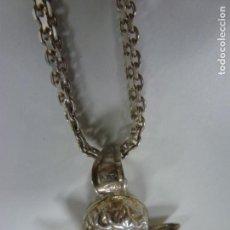 Joyeria: GARGANTILLA CON ANGELITO DE PLATA ITALIANA 925.. Lote 171112969