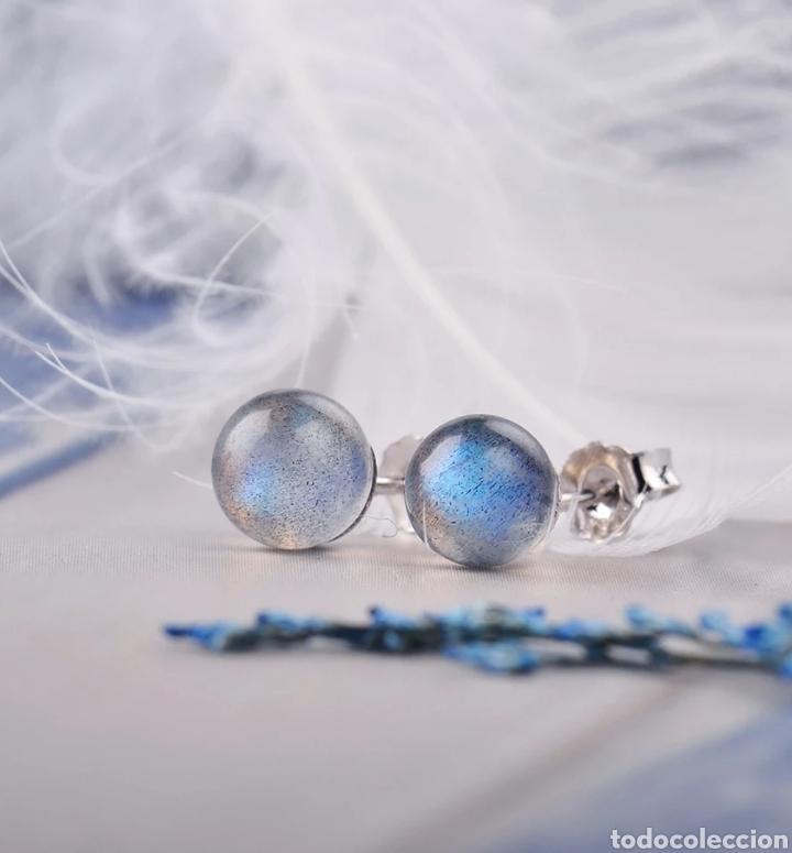 Joyeria: Pendientes Plata y piedra Labradorite - Foto 2 - 171151833