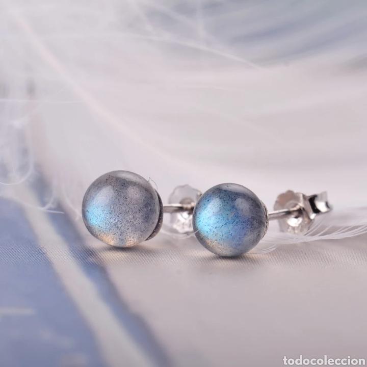 Joyeria: Pendientes Plata y piedra Labradorite - Foto 4 - 171151833
