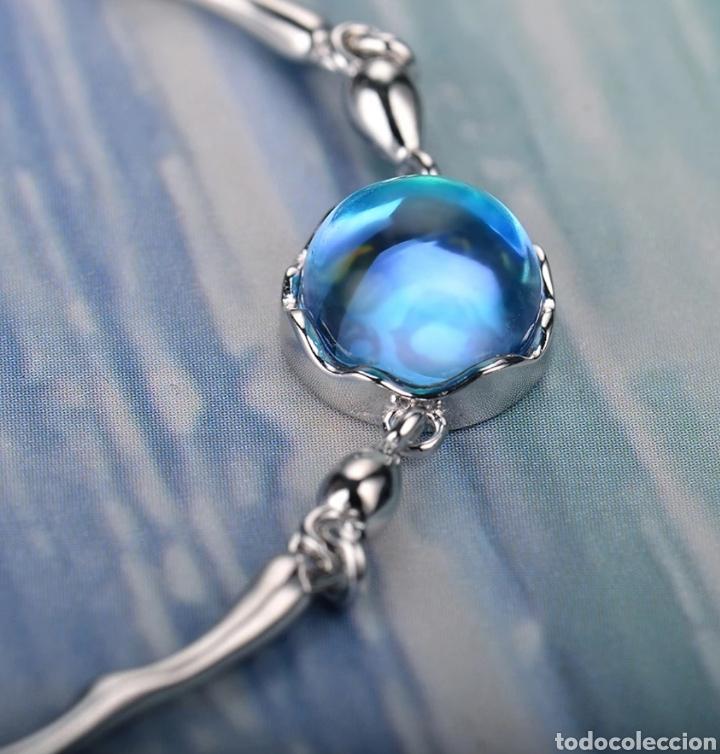 Joyeria: Pulsera de Plata y cristal pulido - Foto 2 - 171151874