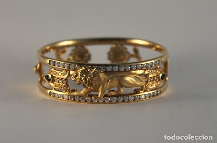 Joyeria: zafiros, esmeraldas, rubíes y circonitas en oro de 18 kl - Foto 22 - 171069007