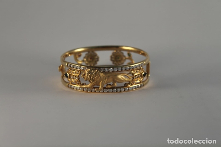 Joyeria: zafiros, esmeraldas, rubíes y circonitas en oro de 18 kl - Foto 25 - 171069007