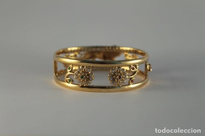 Joyeria: zafiros, esmeraldas, rubíes y circonitas en oro de 18 kl - Foto 26 - 171069007