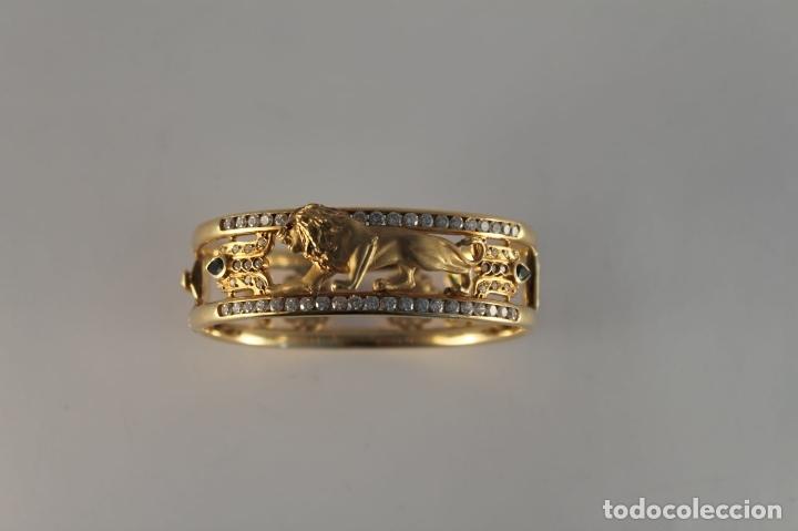Joyeria: zafiros, esmeraldas, rubíes y circonitas en oro de 18 kl - Foto 28 - 171069007