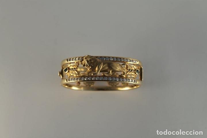 Joyeria: zafiros, esmeraldas, rubíes y circonitas en oro de 18 kl - Foto 27 - 171069007