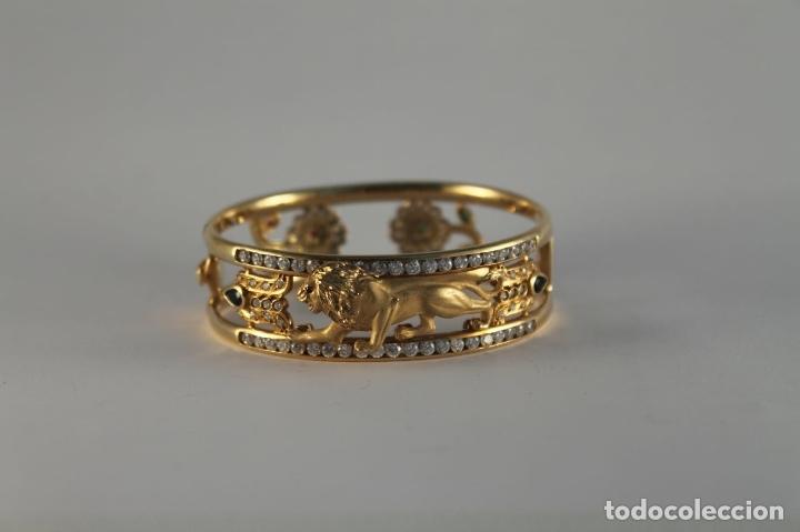 Joyeria: zafiros, esmeraldas, rubíes y circonitas en oro de 18 kl - Foto 29 - 171069007