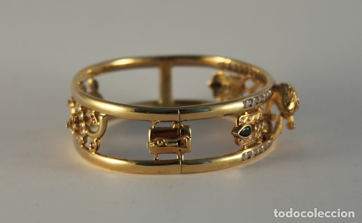 Joyeria: zafiros, esmeraldas, rubíes y circonitas en oro de 18 kl - Foto 32 - 171069007