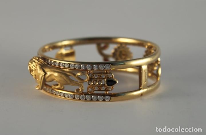 Joyeria: zafiros, esmeraldas, rubíes y circonitas en oro de 18 kl - Foto 33 - 171069007